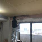 大工さん!さすがです!間接照明用の造作スタート!in神戸市灘区 リノベ工事!