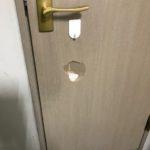 KOBEST  リノベの助け舟⑧ ドアの穴補修