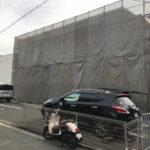 大阪府吹田市 外壁塗装工事中!